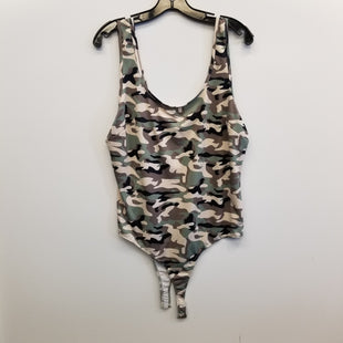Primary Photo - BRAND: FOREVER 21 STYLE: TANK TOP COLOR: CAMOFLAUGE SIZE: 2X OTHER INFO: BODYSUIT SKU: 205-205250-79960