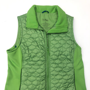 Primary Photo - BRAND: LL BEAN STYLE: VEST DOWN COLOR: GREEN SIZE: M SKU: 205-205280-20215