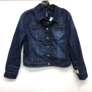 Primary Photo - BRAND: ISAAC MIZRAHI LIVE QVC STYLE: JACKET OUTDOOR COLOR: DENIM SIZE: M SKU: 205-205318-2818