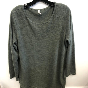 Primary Photo - BRAND:    CLOTHES MENTOR STYLE: DRESS SHORT LONG SLEEVE COLOR: GREEN SIZE: 3X OTHER INFO: BEESON RIVER - SKU: 205-205283-1886