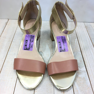 Primary Photo - BRAND: CHARLES BY CHARLES DAVID STYLE: SANDALS LOW COLOR: GOLD SIZE: 8 SKU: 205-205299-13828