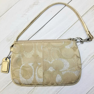 Primary Photo - BRAND: COACHSTYLE: HANDBAG DESIGNERCOLOR: BROWNSIZE: SMALLOTHER INFO: WRISTLET DESIGNERSKU: 205-205315-28