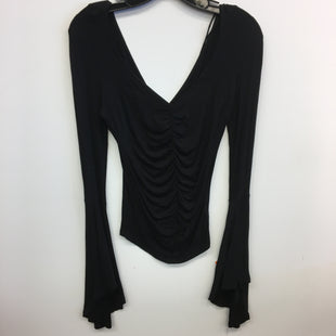 Primary Photo - BRAND: WE THE FREE STYLE: TOP LONG SLEEVE COLOR: BLACK SIZE: XS SKU: 205-205318-3848