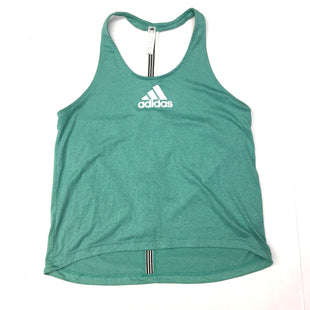 Primary Photo - BRAND: ADIDAS STYLE: ATHLETIC TANK TOP COLOR: TEAL SIZE: M SKU: 205-205299-11744
