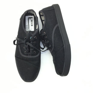 Primary Photo - BRAND: TOMS STYLE: SHOES ATHLETIC COLOR: BLACK SIZE: 7.5 SKU: 205-205299-16547