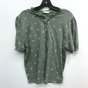 Primary Photo - BRAND: LUCKY BRAND STYLE: TOP SHORT SLEEVE COLOR: FLOWERED SIZE: L SKU: 205-205299-16535