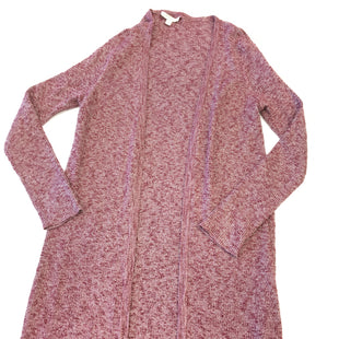 Primary Photo - BRAND: EVA MENDES STYLE: SWEATER CARDIGAN LIGHTWEIGHT COLOR: RED SIZE: XS SKU: 205-205250-57068