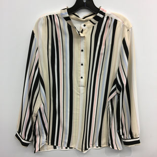 Primary Photo - BRAND: ANNE KLEIN STYLE: TOP LONG SLEEVE COLOR: STRIPED SIZE: 2X SKU: 205-205318-2413