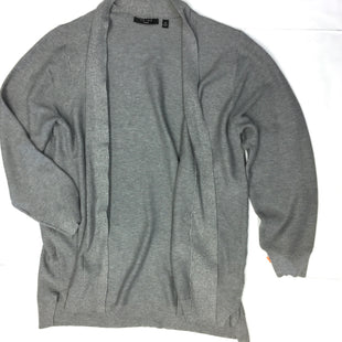 Primary Photo - BRAND: CYRUS KNITS STYLE: SWEATER CARDIGAN LIGHTWEIGHT COLOR: GREY SIZE: 3X SKU: 205-205250-57424