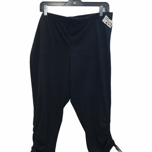 Primary Photo - BRAND: SIMPLY EMMA STYLE: ATHLETIC CAPRIS COLOR: BLACK SIZE: 2X SKU: 205-205250-72528