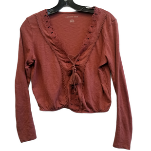 Primary Photo - BRAND: AMERICAN EAGLE STYLE: TOP LONG SLEEVE COLOR: ORANGE SIZE: S SKU: 205-205250-76772