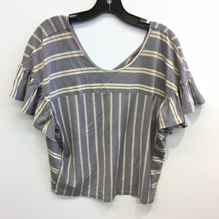 Primary Photo - BRAND: LUCKY BRAND STYLE: TOP SHORT SLEEVE COLOR: STRIPED SIZE: S SKU: 205-205250-77653