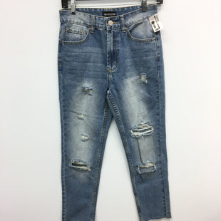 Primary Photo - BRAND:    CLOTHES MENTOR STYLE: JEANS COLOR: DENIM SIZE: 6 OTHER INFO: PRETTY LITTLE THING - SKU: 205-205250-76460