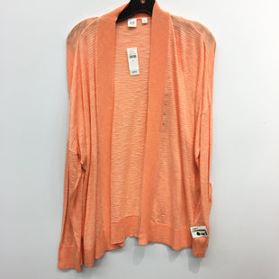 Primary Photo - BRAND: GAP STYLE: SWEATER CARDIGAN LIGHTWEIGHT COLOR: ORANGE SIZE: XL SKU: 205-205330-80