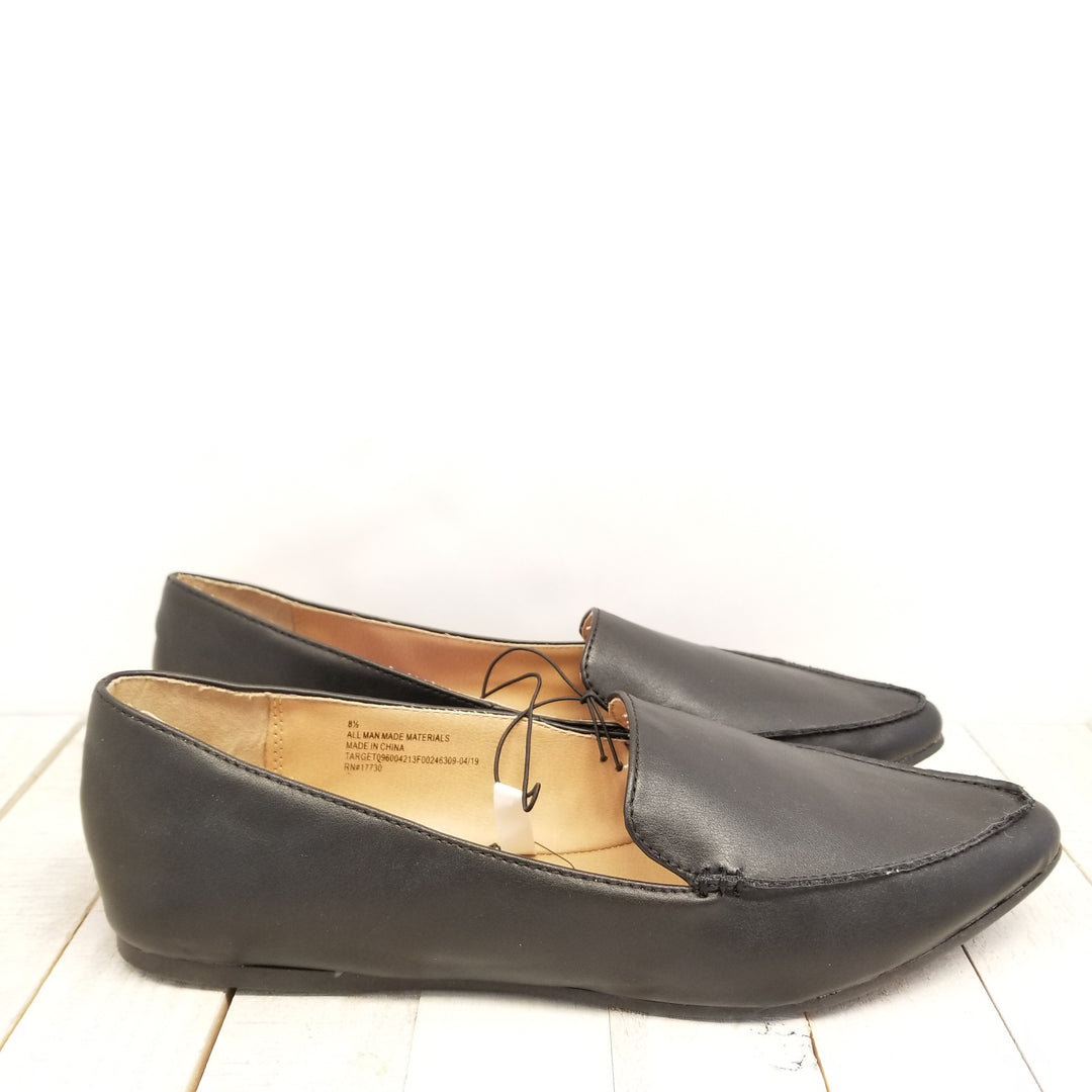 Photo #1 - BRAND: A NEW DAY <BR>STYLE: SHOES FLATS <BR>COLOR: BLACK <BR>SIZE: 8.5 <BR>SKU: 205-205250-61584