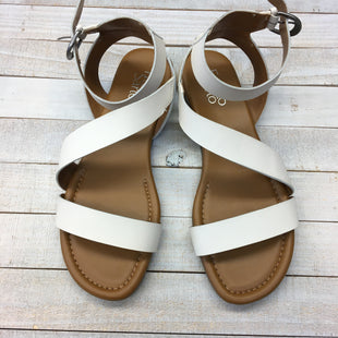 Primary Photo - BRAND: FRANCO SARTO STYLE: SANDALS FLAT COLOR: WHITE SIZE: 8.5 SKU: 205-205318-3835