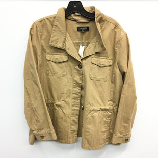 Primary Photo - BRAND: TALBOTS STYLE: JACKET OUTDOOR COLOR: KHAKI SIZE: PETITE   XL SKU: 205-205250-50539