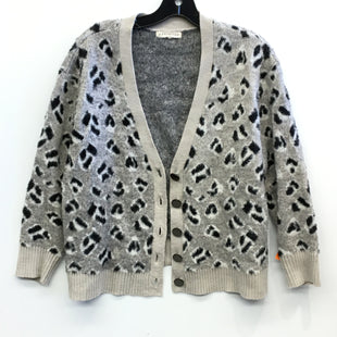 Primary Photo - BRAND:    CLOTHES MENTOR STYLE: SWEATER CARDIGAN LIGHTWEIGHT COLOR: ANIMAL PRINT SIZE: 1X OTHER INFO: RETROLOGY - SKU: 205-205250-74188