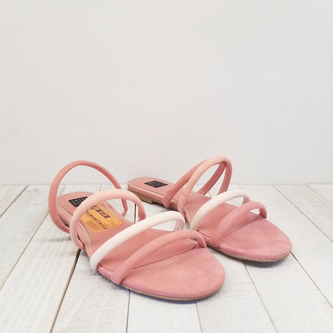 Primary Photo - BRAND: WHITE HOUSE BLACK MARKET<BR>STYLE: SANDALS FLAT<BR>COLOR: PINK<BR>SIZE: 6.5<BR>SKU: 205-205299-11514