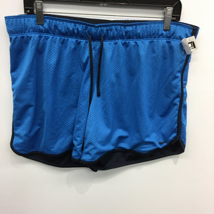 Primary Photo - BRAND: NIKE APPAREL STYLE: ATHLETIC SHORTS COLOR: BLUE SIZE: XL SKU: 205-205318-1268