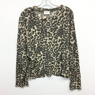 Primary Photo - BRAND: EVERLY STYLE: TOP LONG SLEEVE COLOR: ANIMAL PRINT SIZE: L SKU: 205-205250-72236
