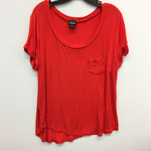Primary Photo - BRAND: SIMPLY EMMA STYLE: TOP SHORT SLEEVE COLOR: ORANGE SIZE: 2X SKU: 205-205299-15987
