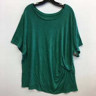 Primary Photo - BRAND: AVA & VIV STYLE: TOP SHORT SLEEVE COLOR: GREEN SIZE: 4X SKU: 205-205318-3009