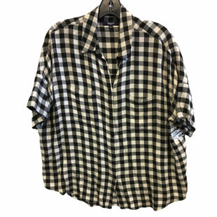 Primary Photo - BRAND: MADEWELL STYLE: TOP SHORT SLEEVE COLOR: GINGHAM SIZE: M SKU: 205-205250-77842