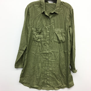 Primary Photo - BRAND: H&M STYLE: DRESS SHORT LONG SLEEVE COLOR: OLIVE SIZE: 12 SKU: 205-205250-71216