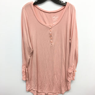 Primary Photo - BRAND: TORRID STYLE: TOP LONG SLEEVE COLOR: PEACH SIZE: 1X SKU: 205-205250-73733