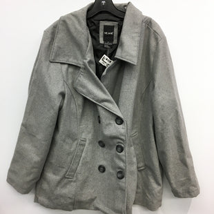 Primary Photo - BRAND: ME JANE STYLE: COAT SHORT COLOR: GREY SIZE: 2X SKU: 205-205250-75299