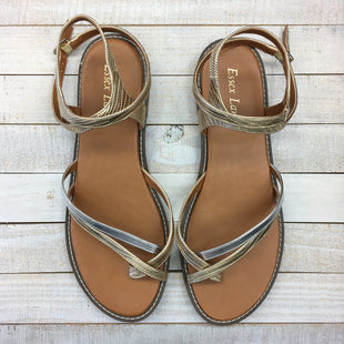 Primary Photo - BRAND:    CLOTHES MENTOR STYLE: SANDALS FLAT COLOR: MULTI SIZE: 10 OTHER INFO: ESSEX LANE - SKU: 205-205250-78423