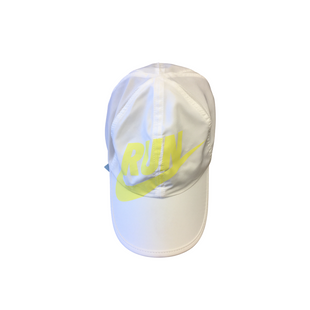 Primary Photo - BRAND: NIKE STYLE: HAT COLOR: WHITE YELLOW SKU: 205-205250-69613