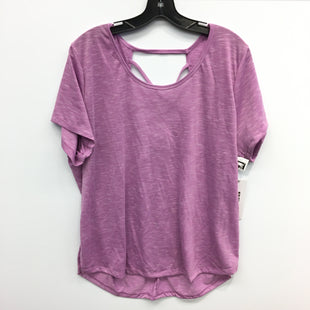 Primary Photo - BRAND: RBX STYLE: ATHLETIC TOP SHORT SLEEVE COLOR: PURPLE SIZE: 2X SKU: 205-205318-4157