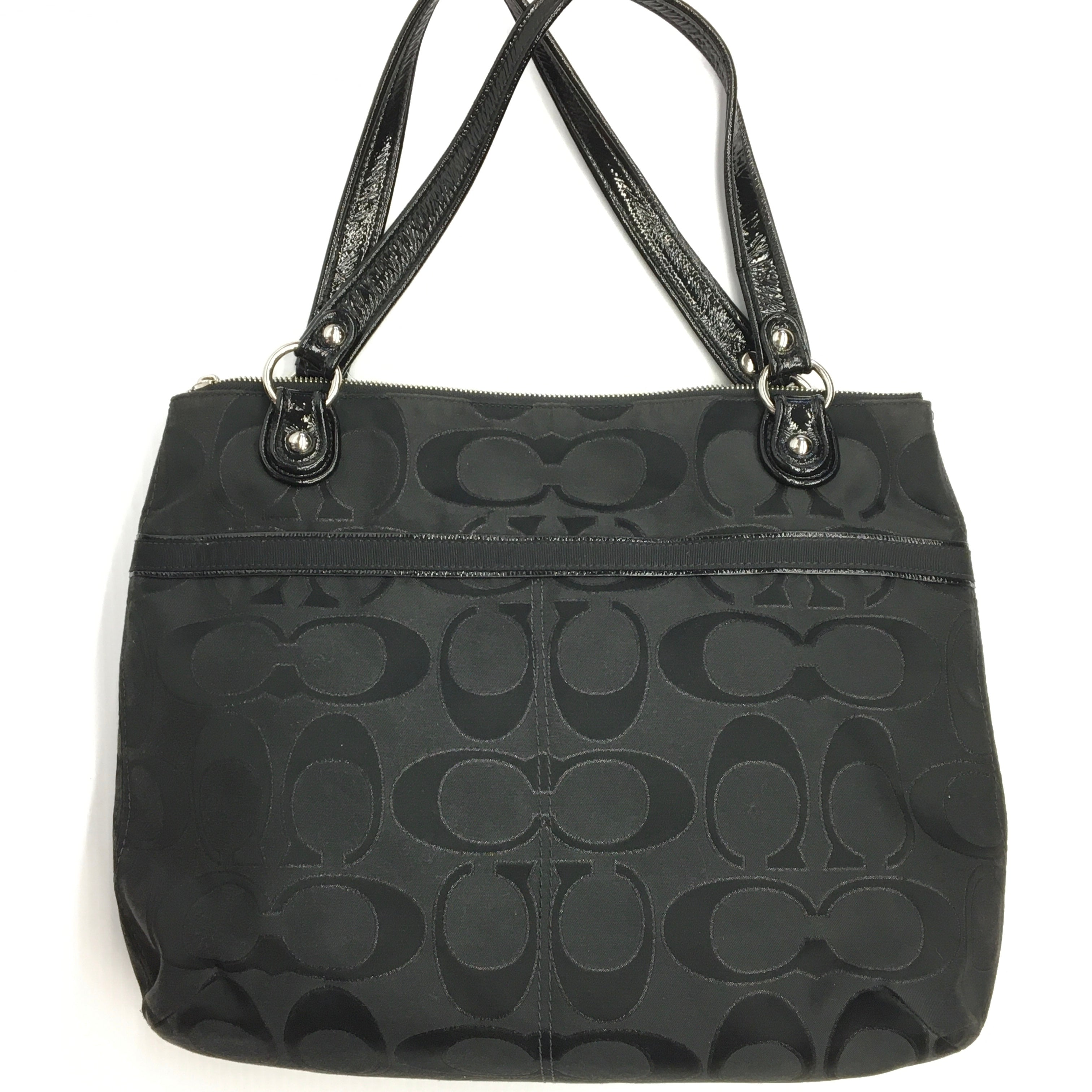 Photo #2 - BRAND: COACH <BR>STYLE: HANDBAG DESIGNER <BR>COLOR: BLACK <BR>SIZE: MEDIUM <BR>SKU: 205-205250-77731