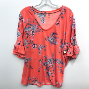Primary Photo - BRAND: ANA STYLE: TOP SHORT SLEEVE COLOR: FLORAL SIZE: 3X SKU: 205-205250-66734