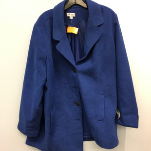 Primary Photo - BRAND: DENIM AND COMPANY STYLE: COAT SHORT COLOR: BLUE SIZE: XL SKU: 205-205250-74913