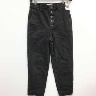 Primary Photo - BRAND: MADEWELL STYLE: PANTS COLOR: BLACK DENIM SIZE: 4 SKU: 205-205250-62615