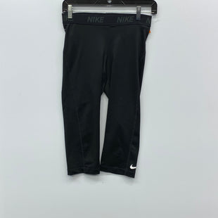 Primary Photo - BRAND: NIKE STYLE: ATHLETIC CAPRIS COLOR: BLACK SIZE: M SKU: 205-205250-73294