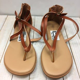 Primary Photo - BRAND: TORRID STYLE: SANDALS FLAT COLOR: BROWN SIZE: 10.5 SKU: 205-205299-14815