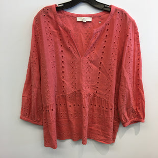 Primary Photo - BRAND: LOFT STYLE: TOP LONG SLEEVE COLOR: ORANGE SIZE: XL SKU: 205-205250-78032
