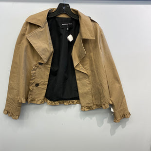 Primary Photo - BRAND: WHO WHAT WEAR STYLE: JACKET OUTDOOR COLOR: TAN SIZE: M SKU: 205-205280-17649