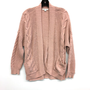 Primary Photo - BRAND: AMERICAN EAGLE STYLE: SWEATER CARDIGAN LIGHTWEIGHT COLOR: PINK SIZE: M SKU: 205-205250-61813