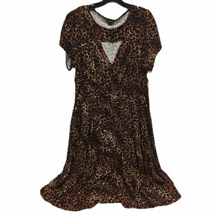 Primary Photo - BRAND: TORRID STYLE: DRESS SHORT SHORT SLEEVE COLOR: ANIMAL PRINT SIZE: 1X SKU: 205-205250-72333