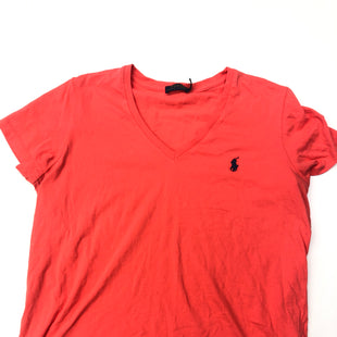 Primary Photo - BRAND: POLO RALPH LAUREN STYLE: TOP SHORT SLEEVE COLOR: PINK SIZE: XL SKU: 205-205299-8911