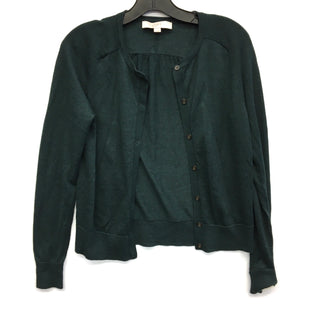 Primary Photo - BRAND: LOFT STYLE: SWEATER CARDIGAN LIGHTWEIGHT COLOR: GREEN SIZE: S SKU: 205-205283-1444