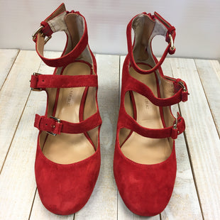 Primary Photo - BRAND: BANANA REPUBLIC STYLE: SHOES LOW HEEL COLOR: RED SIZE: 6 SKU: 205-205299-13719