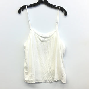 Primary Photo - BRAND: FOREVER 21 STYLE: TOP SLEEVELESS COLOR: WHITE SIZE: 2X SKU: 205-205299-15803