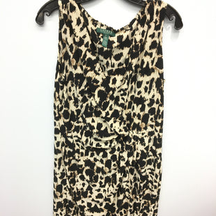 Primary Photo - BRAND: LAUREN BY RALPH LAUREN STYLE: DRESS SHORT SLEEVELESS COLOR: ANIMAL PRINT SIZE: 12 SKU: 205-205299-13284