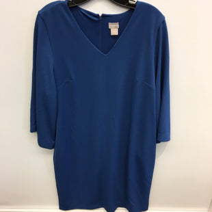 Primary Photo - BRAND: CHICOS STYLE: DRESS SHORT LONG SLEEVE COLOR: BLUE SIZE: L SKU: 205-205250-49490
